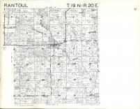 Rantoul T19N-R20E, Calumet County 1961